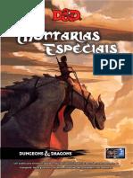 D&D 5ed - Homebrew - Montarias Especiais
