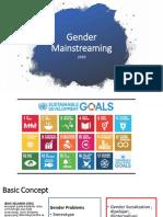 3. Gender Mainstreaming - Yenny Widjaja