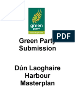 Green Party Submission on the Future of Dún Laoghaire Harbour February 2011