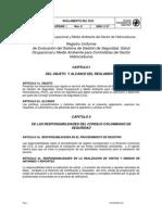 reglamento del RUC - consejo colombiano de seguridad