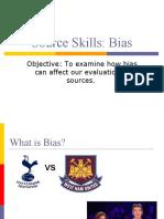 Source Skills Bias