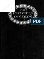 Lost Cities of Ceylon