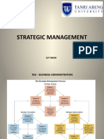 1st week - Strategic Management - AID.pptx