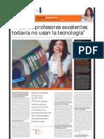 Haydee Azabache Educadora (directora de PUCP Virtual), PuntoEdu. 18/04/2005