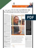 Giovanni Levi (historiador, Padre de la Microhistoria), PuntoEdu. 25/04/2005