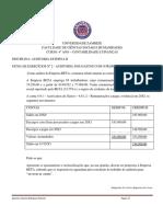 Ficha de Exercício nº 2 AUDITORIA DOS GASTOS COM O PESSOAL