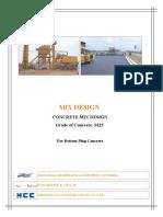 Copy of Mix designM30str wc-.43 cem-360kg