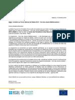 Forum National de Débats 2019_invitation