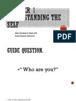 Understanding the self week 1 philosophy-converted