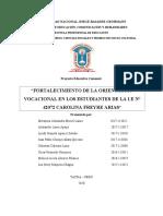 Proyecto-educativo-comunal Orientación Vocacional