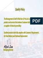 Mak kee Qua;ity Policy v3