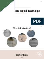 Distortion Road Damage (PowerPoint)