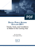 Digital Public Affairs Outlook 2011