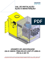 770 - Manual Grampo de Ancoragem (GA-9-180KN-TR68 Ex II 2D T3)