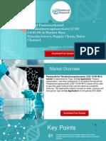 Global Pentaerythritol Tetrakis(Mercaptoacetate) (CAS 10193-99-4) Market Size, Manufacturers, Supply Chain, Sales Channel