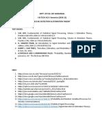 EC5301 DET COURSE RESOURCES