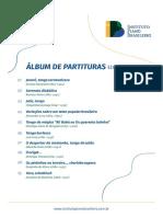 Álbum de partituras No.001 IPB