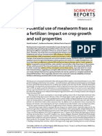 Potential use of mealworm frass