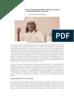 Cesar Niño y Juan Bautista Villafañe (Artículo para publicación)