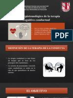 Análisis epistemológico de la terapia cognitivo conductual