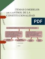 LOS SISTEMAS O MODELOS DE CONTROL DE LA