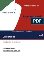 presentacion inicial I modulo algebra lineal 2020 _Q5