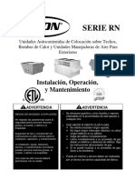AAON - Equipo Paquete 100% Aire Exterior - Manual IOM.pdf