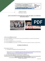 Guía Didáctica N. 1 Grado sexto 2 periodo Ed. Fisica