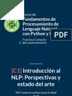 Fundamento de Procesamieto de Lenguaje Natural Con Pyhton y NLTK