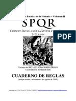 SPQR Deluxe Reglas 2008 (trad)