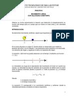 Práctica Movimiento Lineal FZM