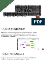 Uso de la aplicación mindomo