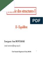 Théorie des structures-Chapitre2
