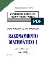 MODULO RM CICLO II 2013 BLOQUE I(1-8)