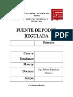 Informe de laboratorio #2 Electronica Analogica I