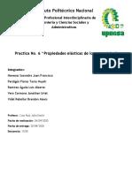 Practica 06 - Propiedades elásticas de los materiales