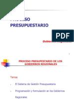 PROCESO PRESUPUESTARIO  - G.R.