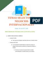 18_08_20 PROCESOS DE INTEGRACIONY ASPECTOS CUBIERTOS POR TLC