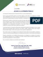 COMUNICADO-ESTUDIOS-CLÍNICOS-COVID-19-2020