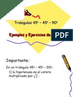 5aEjemplos y Ejercicios de Práctica 45-45-90