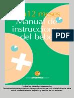 0 a 12 meses Manual de Instrucciones