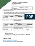 2° BILINGUALISM SCIENCE - PAC CUARTO PERIODO - OCTUBRE 01
