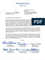 Israel Foreign Aid Letter signed by seven Democrats
