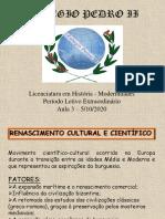 Renascimento Cultural - Resumo em Slides