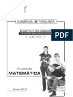 Simulacro de Matematicas