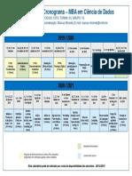 Cronograma_MBA em Ciencia de Dados