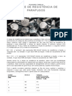 Classe de Resistência de Parafusos (Completo) - Indufix Parafusos