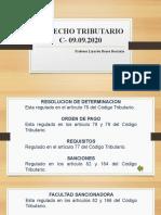 DIAPOSITIVAS DE DERECHO TRIBUTARIO-C 30.09.2020