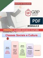 MÓDULO 9 RESUMIDO - CLASSES SOCIAIS E CULTURA