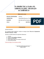 Trab Académico 3. Operatvdd Aduanera